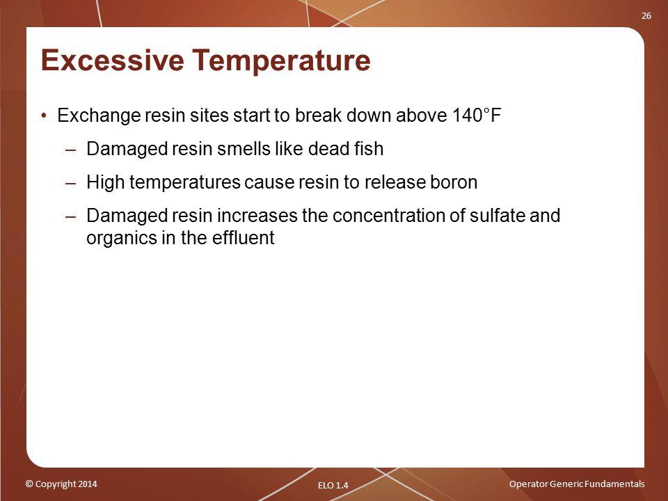 Excessive Temperature