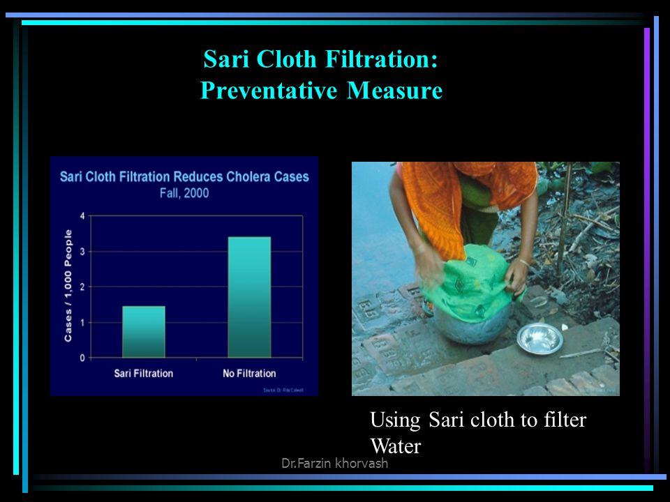 Sari Cloth Filtration: Preventative Measure