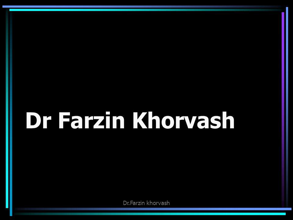Dr Farzin Khorvash Dr.Farzin khorvash