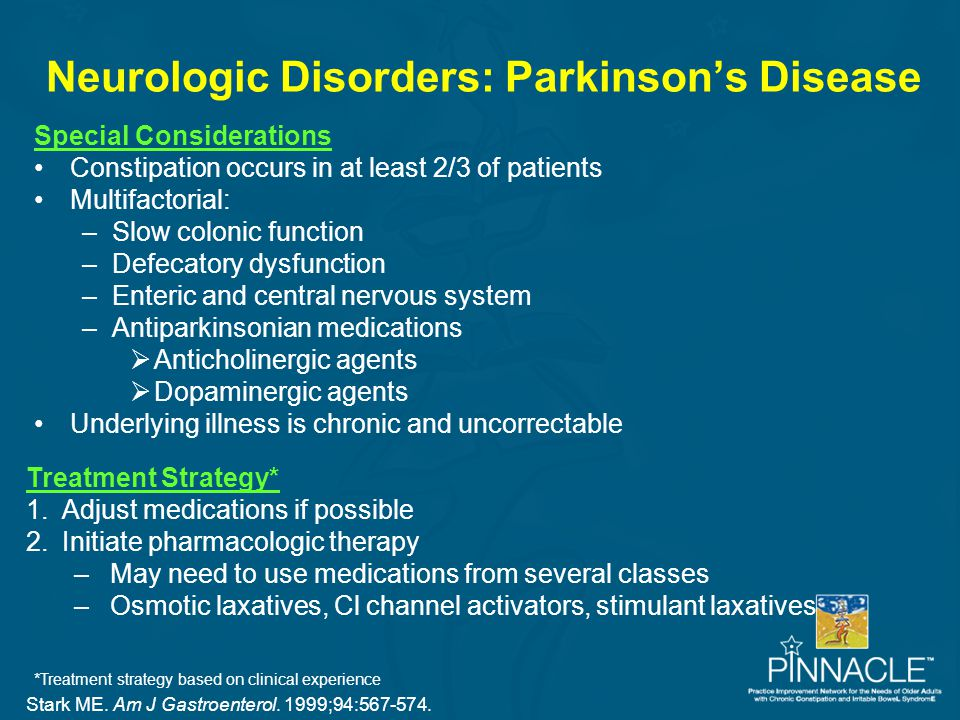 Neurologic Disorders: Parkinson's Disease