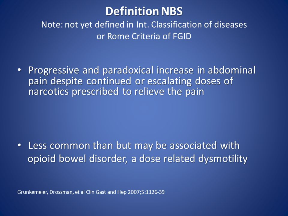 Definition NBS Note: not yet defined in Int