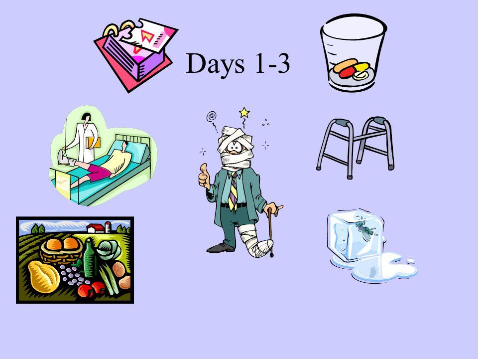 Days 1-3