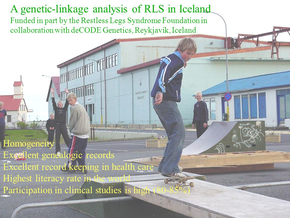 A genetic-linkage analysis of RLS in Iceland