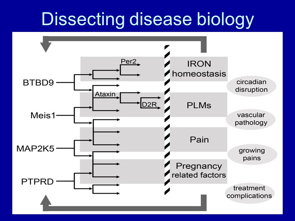 Dissecting disease biology