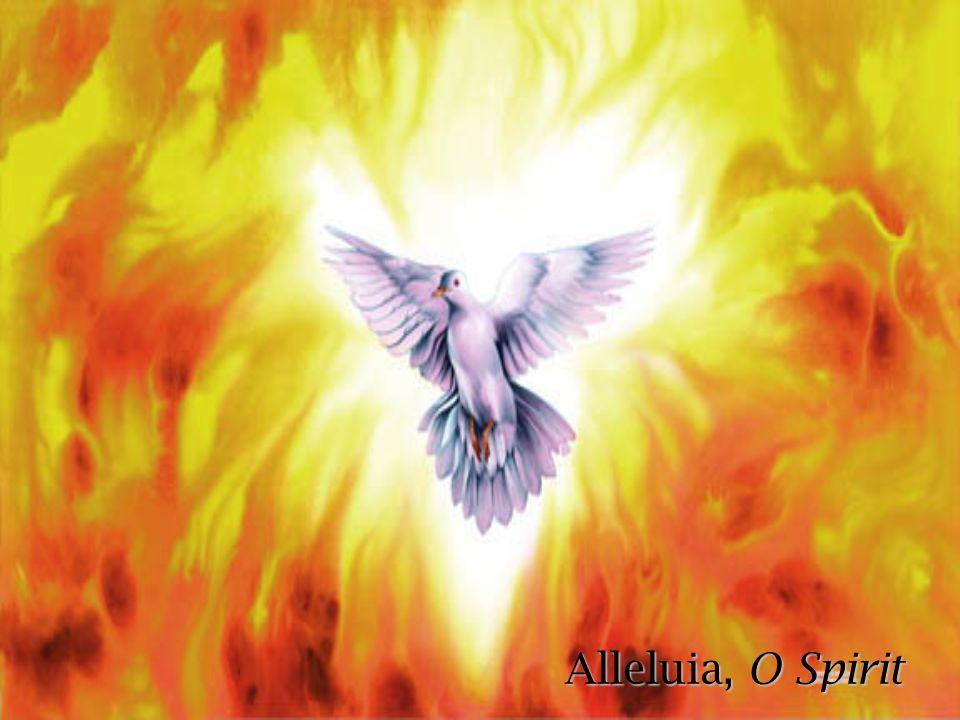 Alleluia, O Spirit
