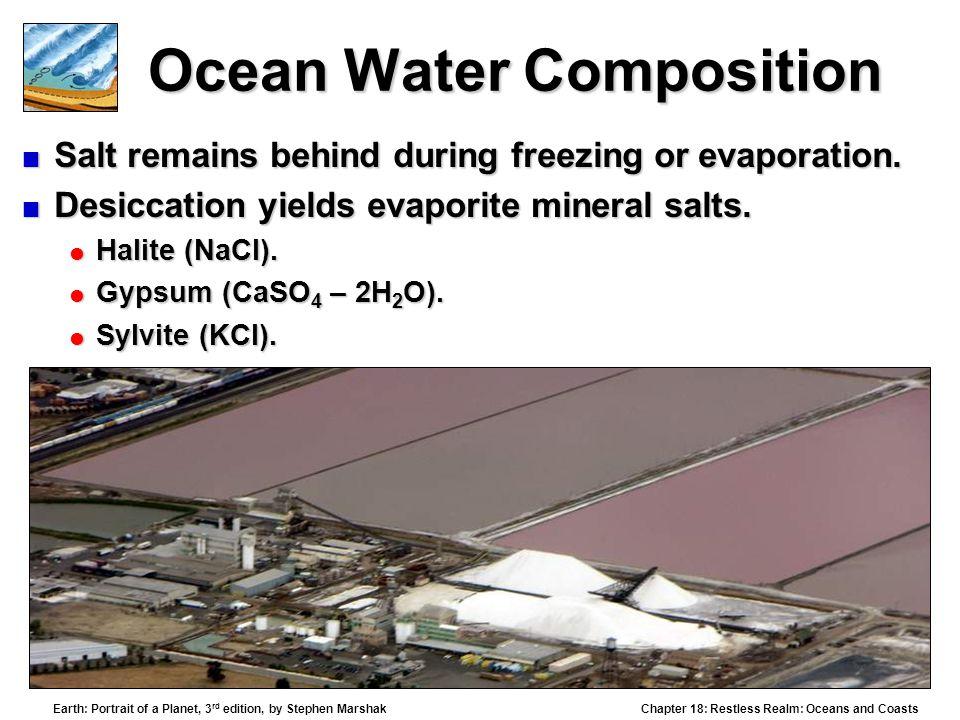 Ocean Water Composition