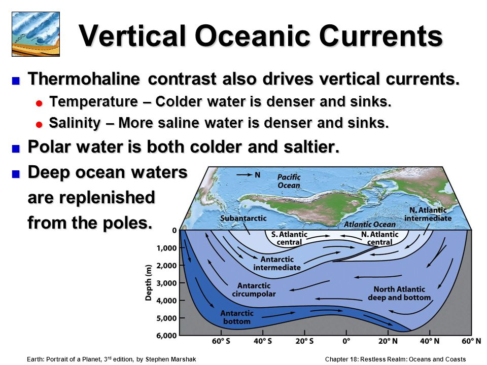Vertical Oceanic Currents