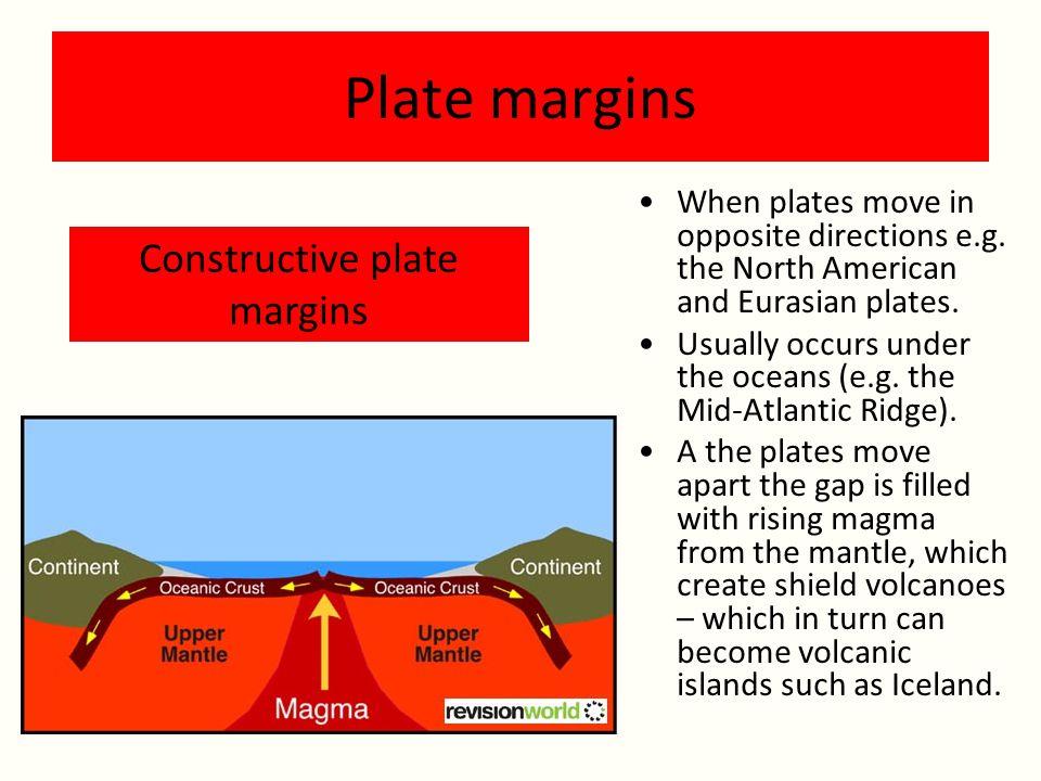 Constructive plate margins