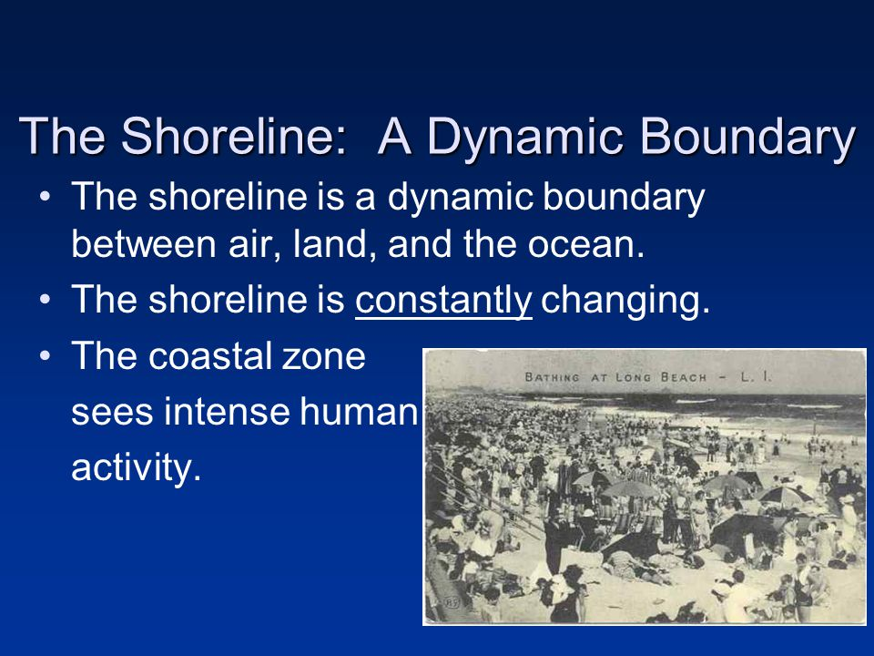 The Shoreline: A Dynamic Boundary
