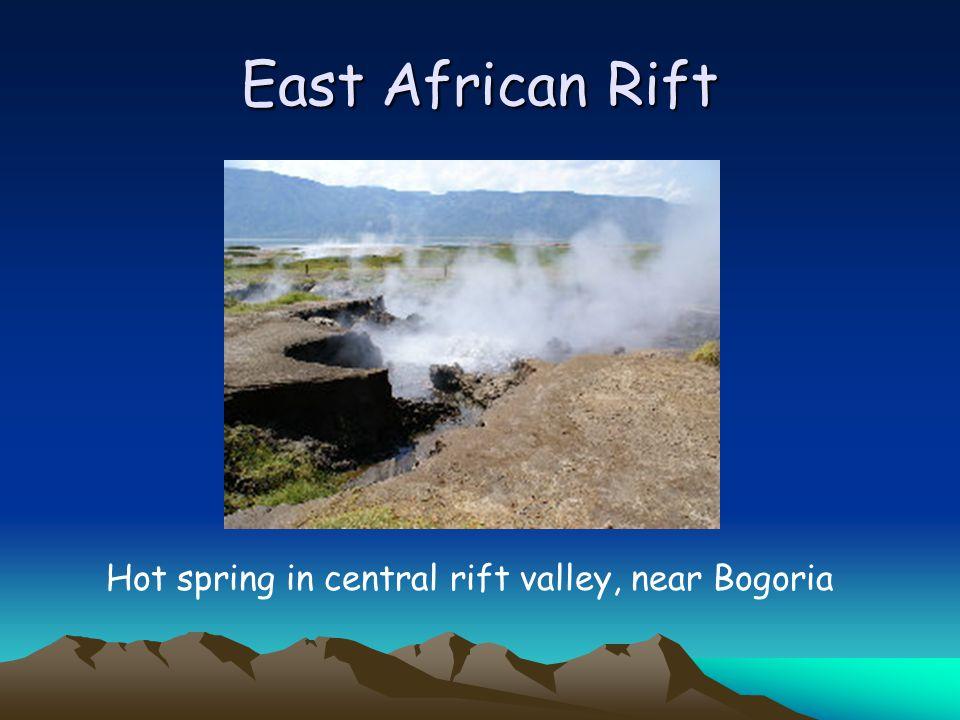 East African Rift Hot spring in central rift valley, near Bogoria