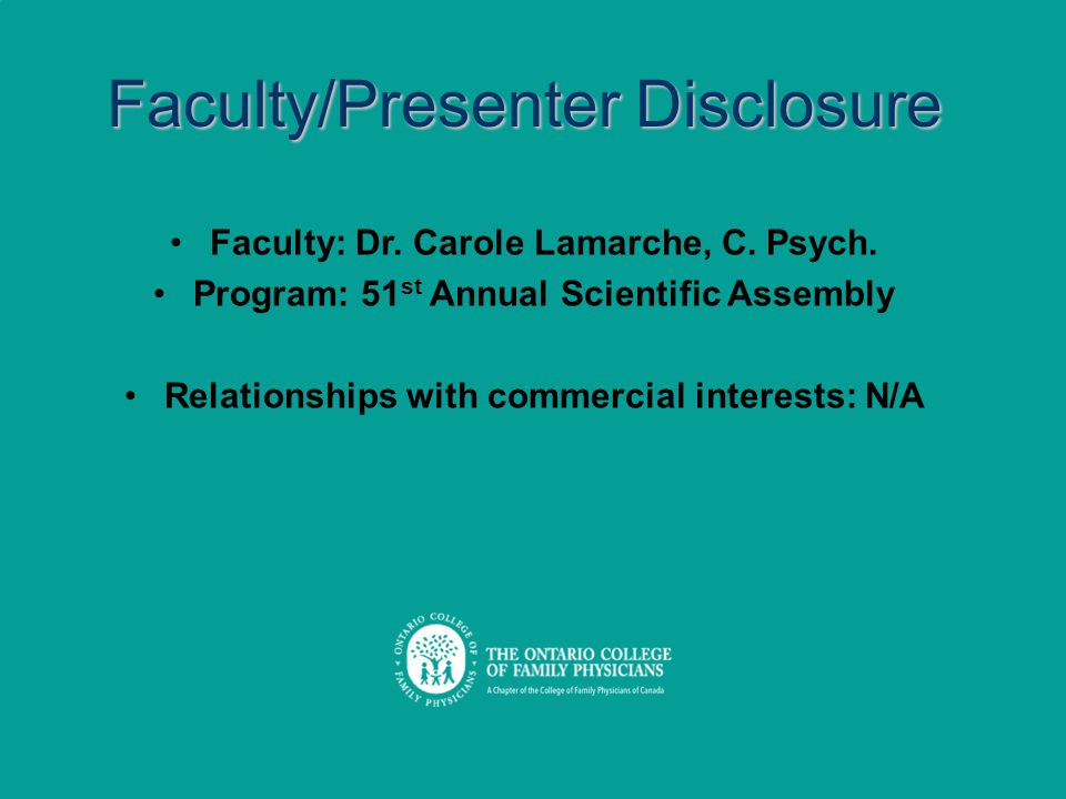 Program: 51st Annual Scientific Assembly