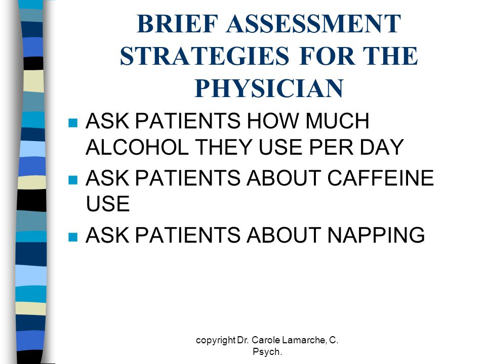 BRIEF ASSESSMENT STRATEGIES FOR THE PHYSICIAN