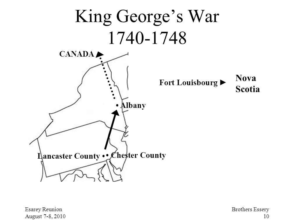King George's War 1740-1748 Nova Scotia CANADA Fort Louisbourg ►