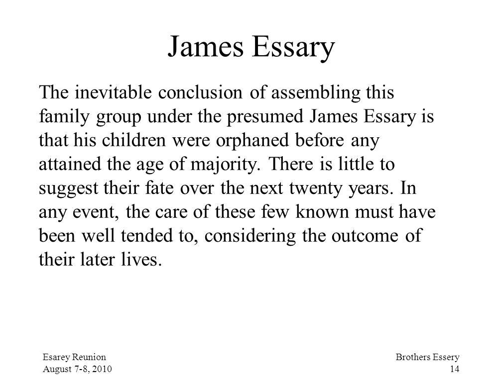 James Essary