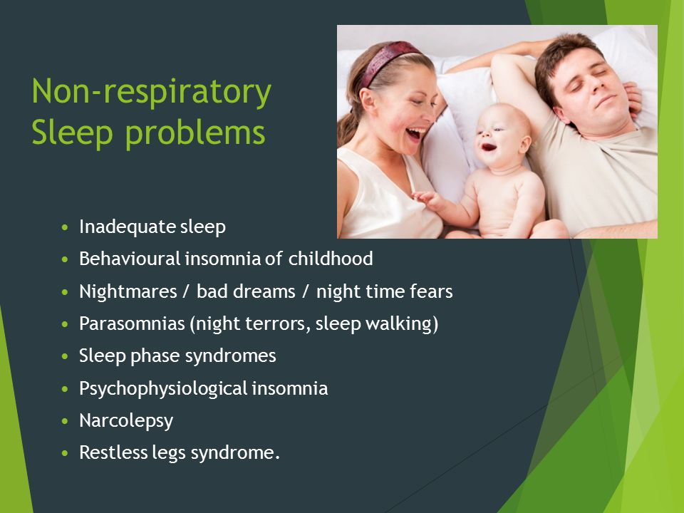 Non-respiratory Sleep problems