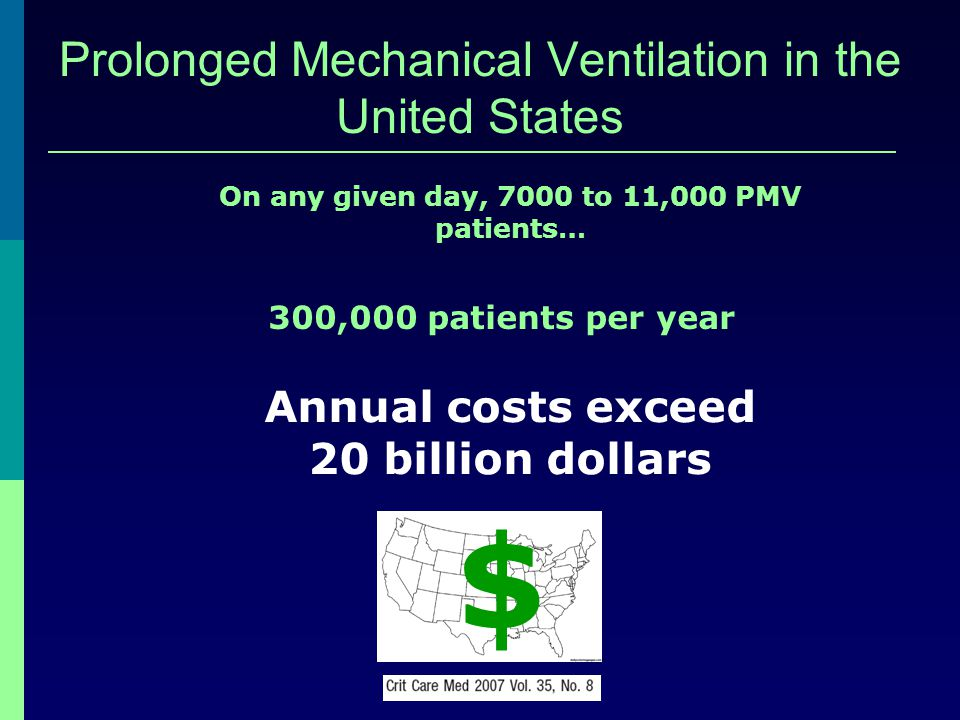 Prolonged Mechanical Ventilation in the United States