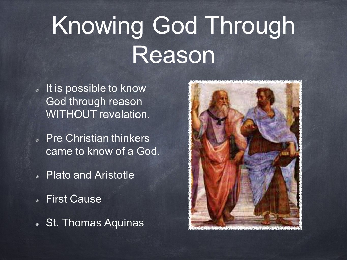 Knowing God Through Reason