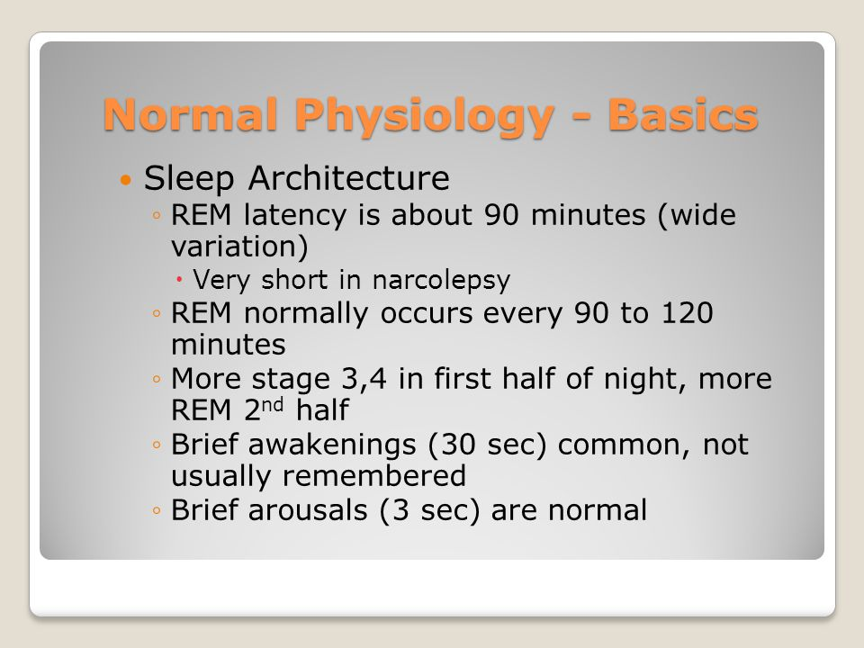 Normal Physiology - Basics