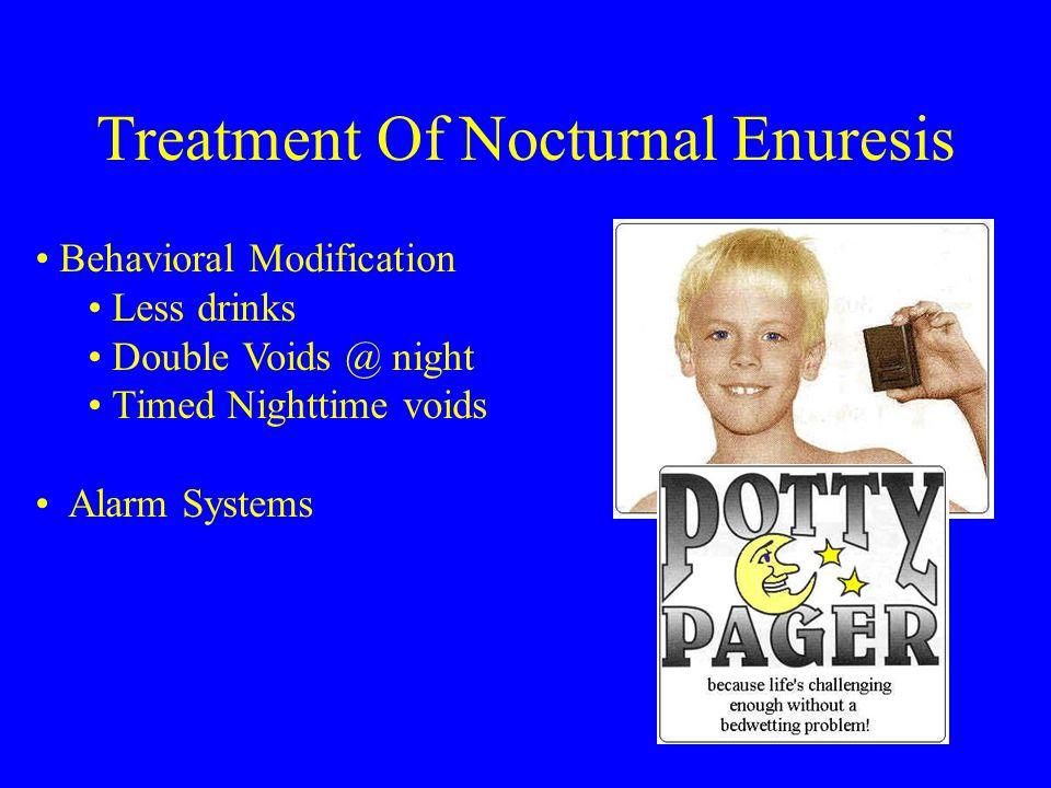 Treatment Of Nocturnal Enuresis