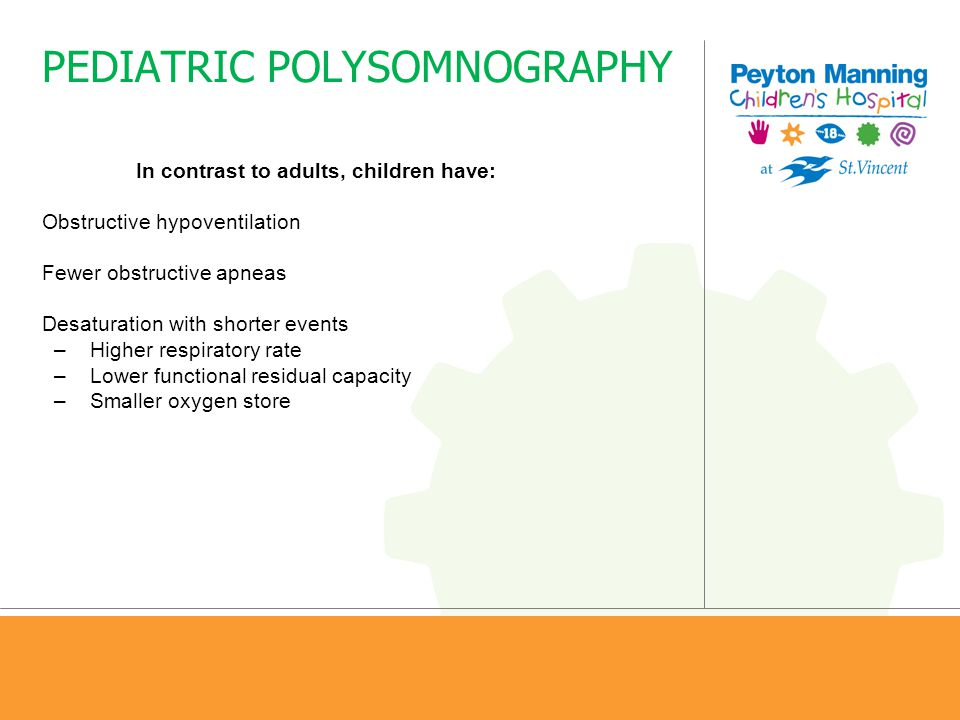 PEDIATRIC POLYSOMNOGRAPHY