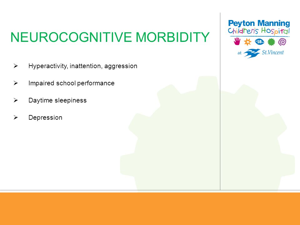NEUROCOGNITIVE MORBIDITY
