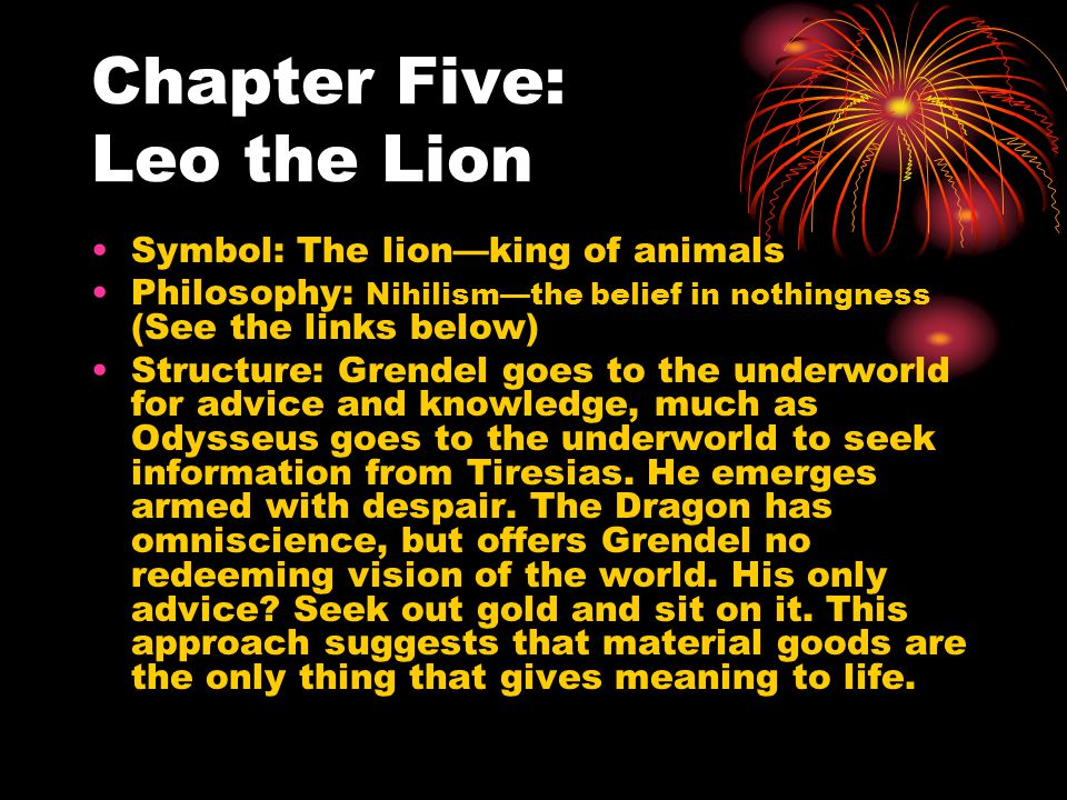 Chapter Five: Leo the Lion