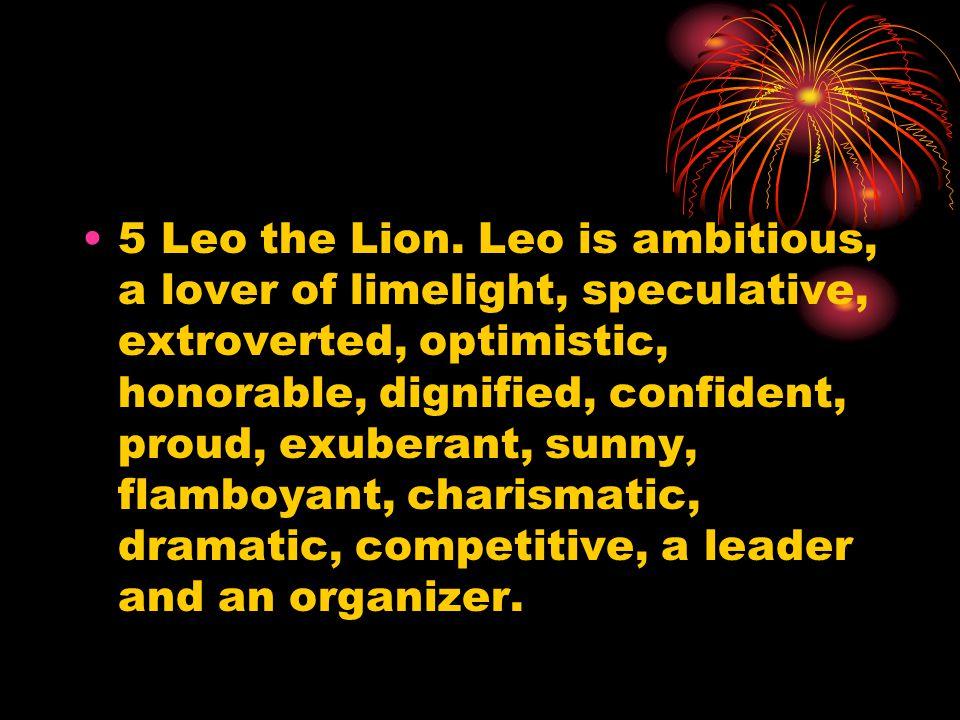 5 Leo the Lion.