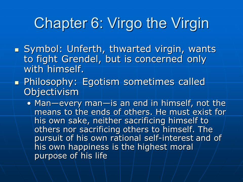 Chapter 6: Virgo the Virgin