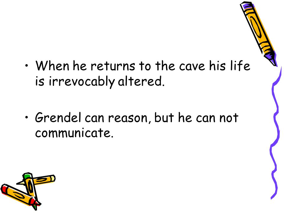 When he returns to the cave his life is irrevocably altered.