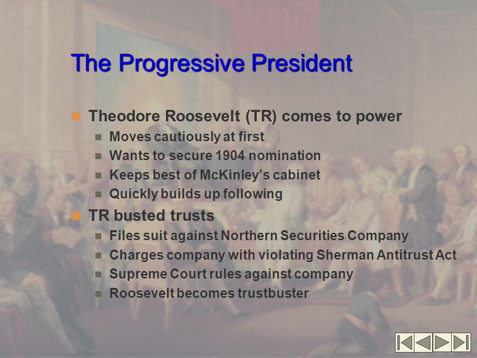 The Progressive President