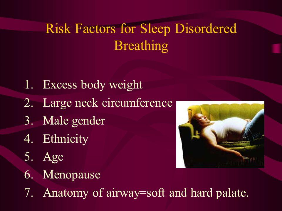 Risk Factors for Sleep Disordered Breathing