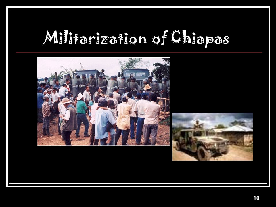 Militarization of Chiapas