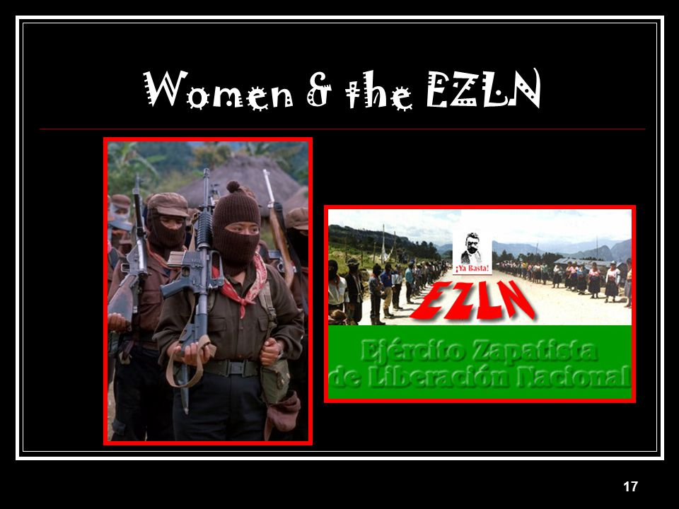 Women & the EZLN