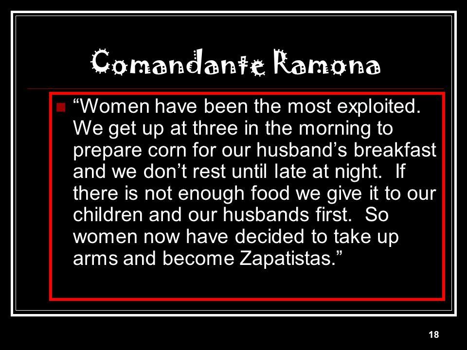 Comandante Ramona