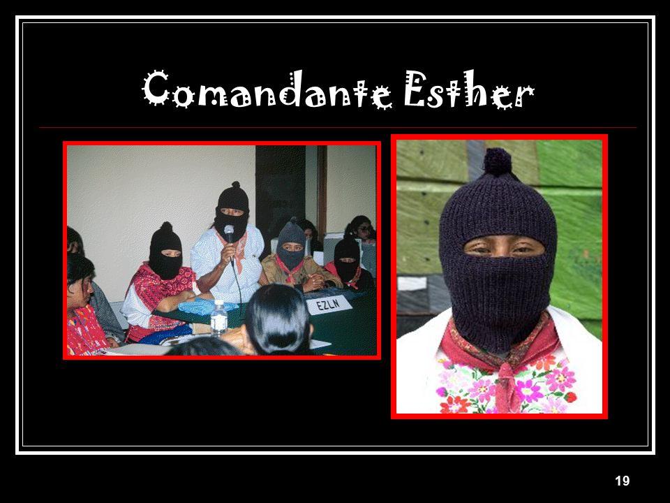 Comandante Esther