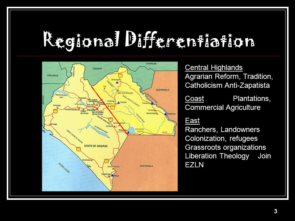 Regional Differentiation