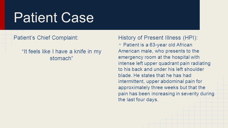 History Patient Medical History (PMH): Familial History (FH):