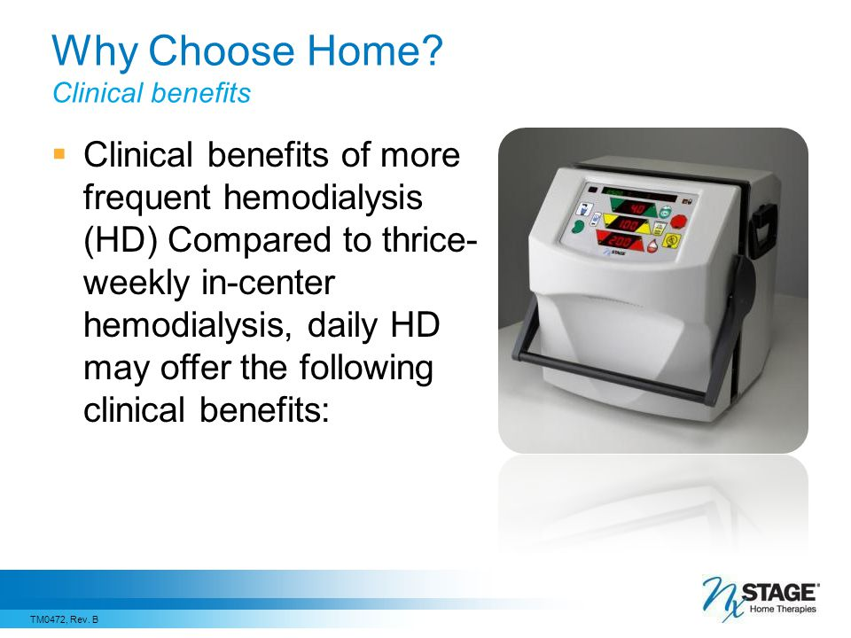 Why Choose Home Clinical benefits