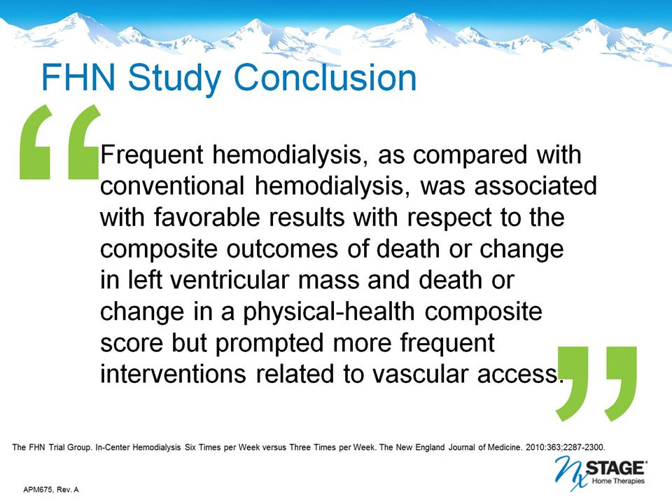 FHN Study Conclusion