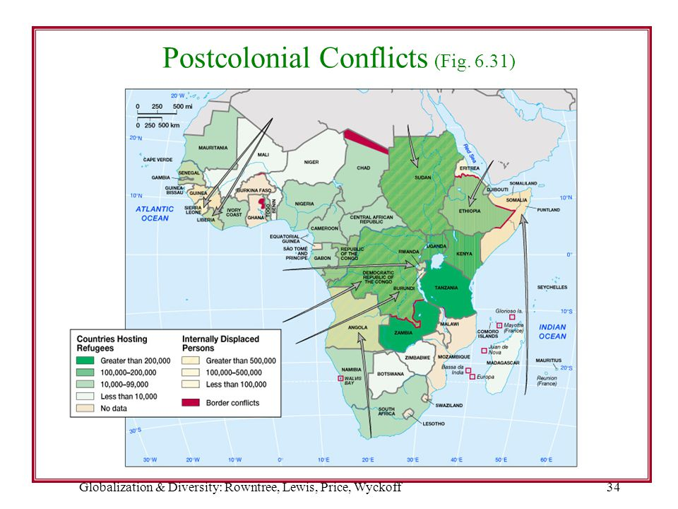 Postcolonial Conflicts (Fig. 6.31)