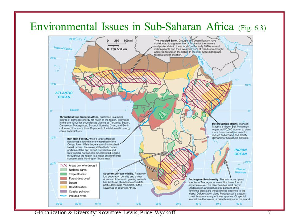 Environmental Issues in Sub-Saharan Africa (Fig. 6.3)