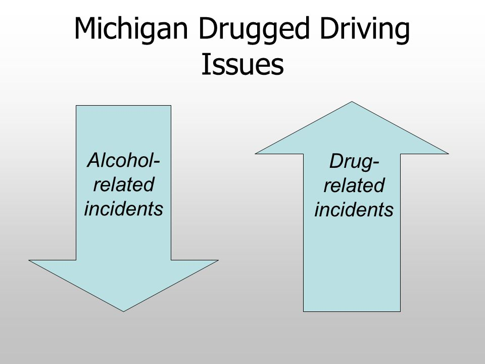 Michigan Drugged Driving Issues