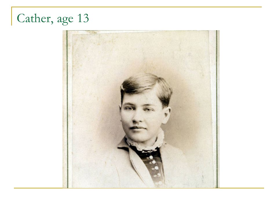 Cather, age 13