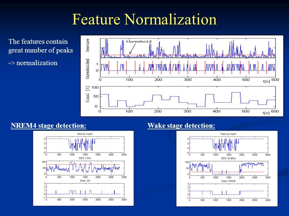 Feature Normalization