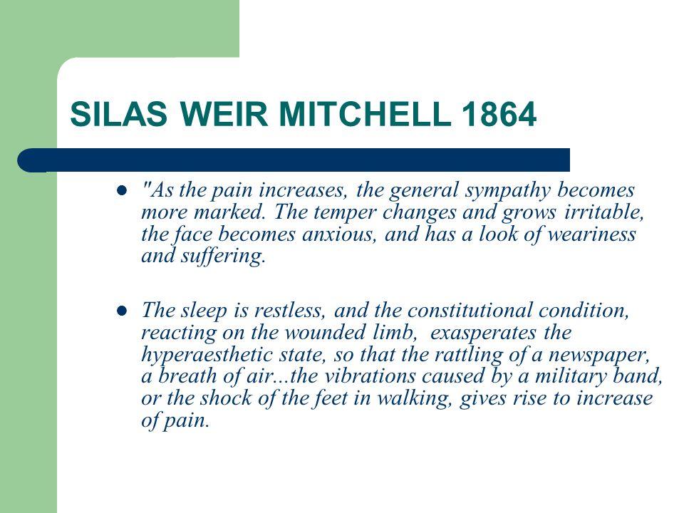 SILAS WEIR MITCHELL 1864