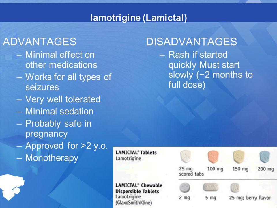 lamotrigine (Lamictal)
