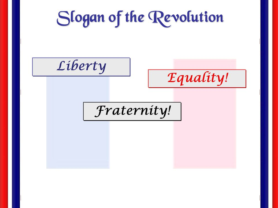Slogan of the Revolution