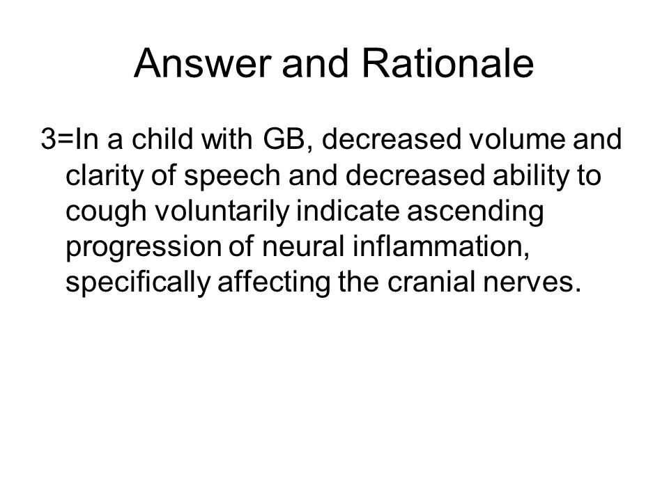 Answer and Rationale
