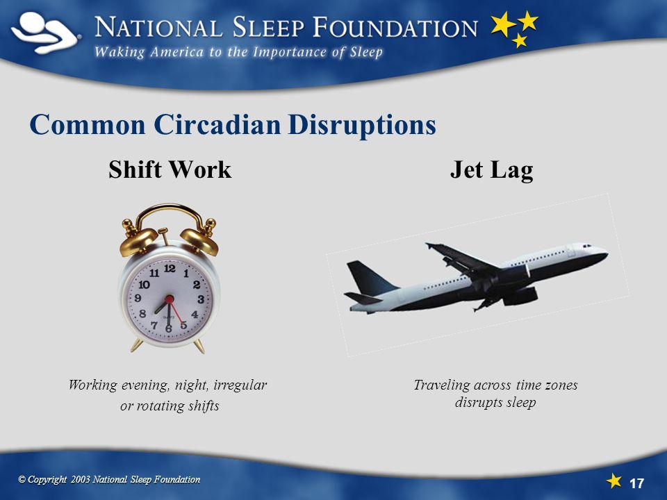 Common Circadian Disruptions