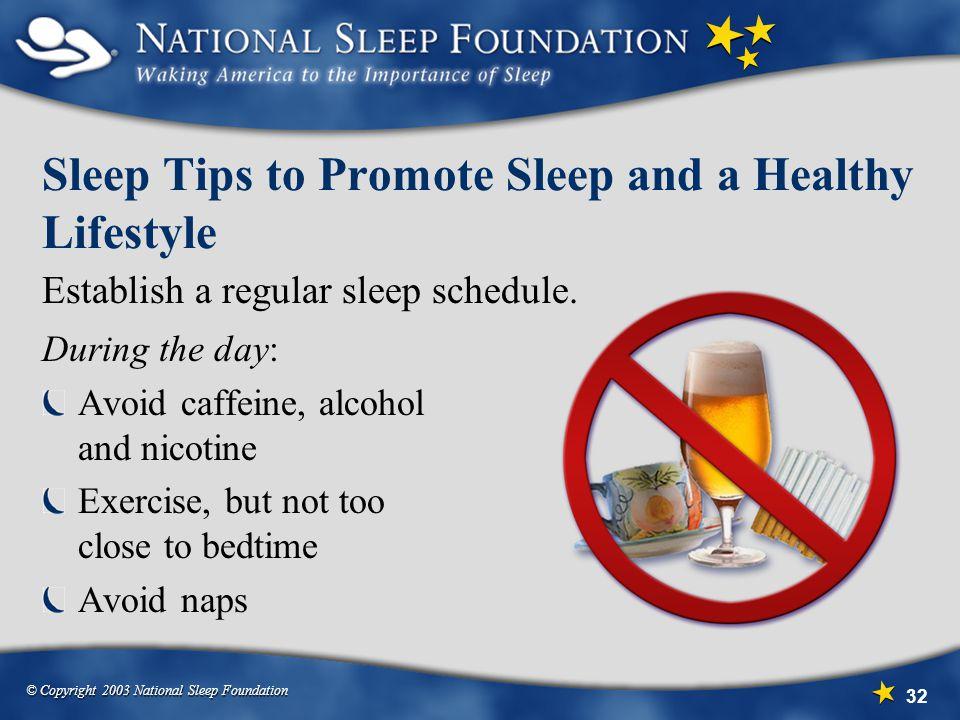 Sleep Tips to Promote Sleep and a Healthy Lifestyle